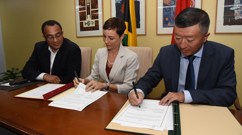 Jamaica receives US $36 Million from China to build Western