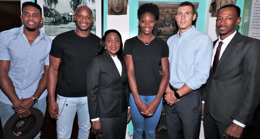 BAHAMAS: Shaunae Miller-Uibo Visited the House of Assembly ...